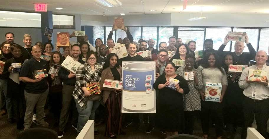 423 items were collected by our Chesterbrook, PA office.