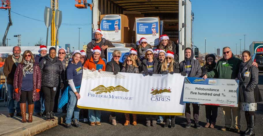 Our NJ Campus employees worked together to collect 35,119 nonperishable items to donate to Philabundance.