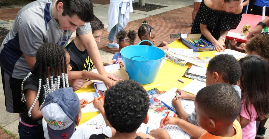 Team Freedom Cares helped the Food Bank of South Jersey kick off their summer meals program with Camden Kidsfest