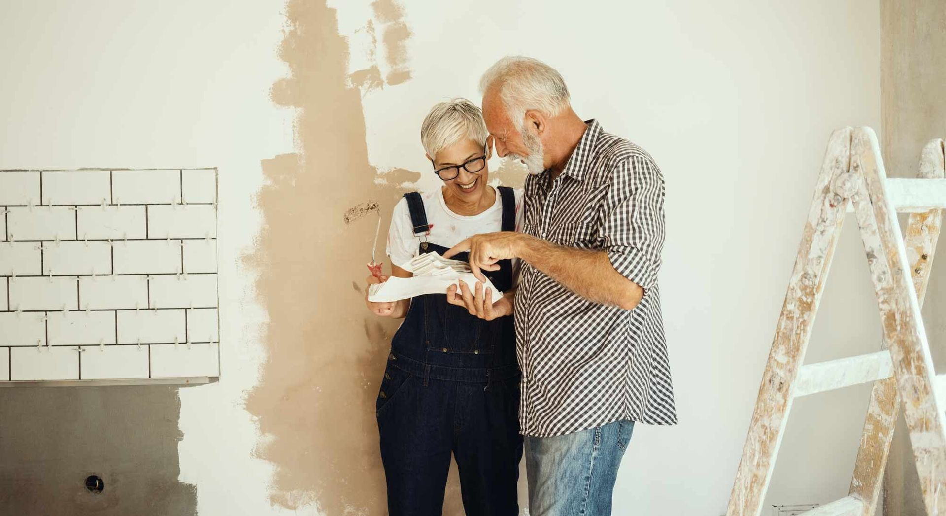 Pay for home improvements with a cash out refinance