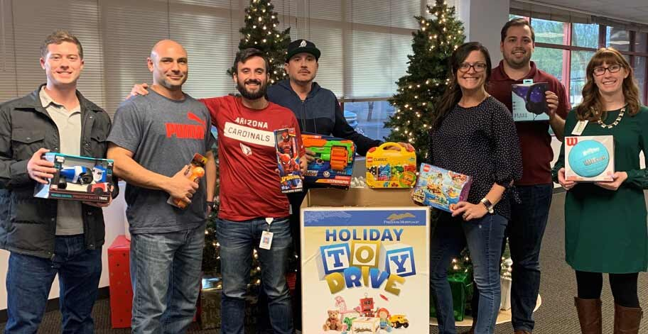 Employees in Arizona were able to support the Tempe Corps Salvation Army with their donation.