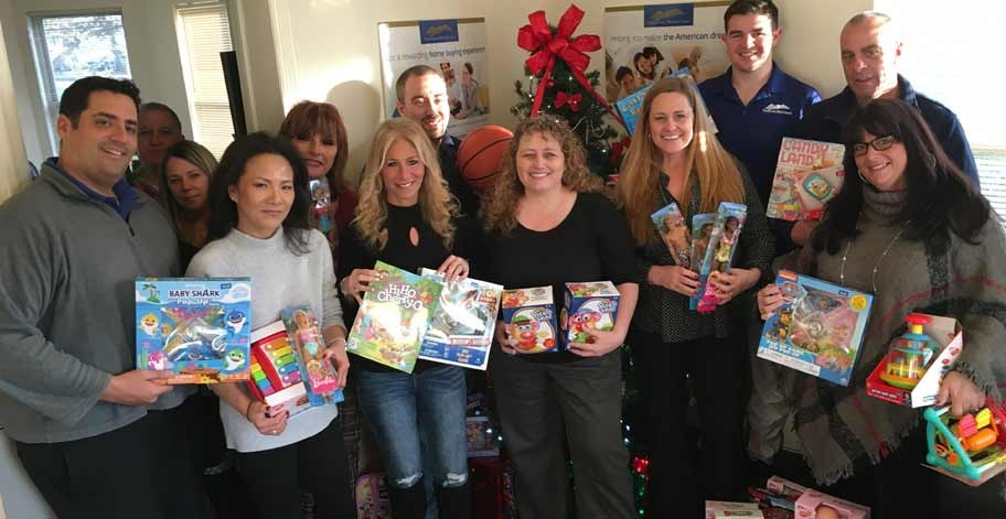 Toys For Tots received over 225 toys thanks to our generous employees in New York.