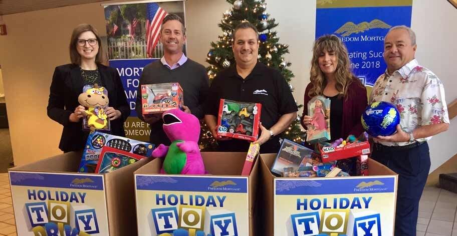 San Dimas, CA employees collected 250 toys