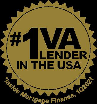Leading VA Lender badge
