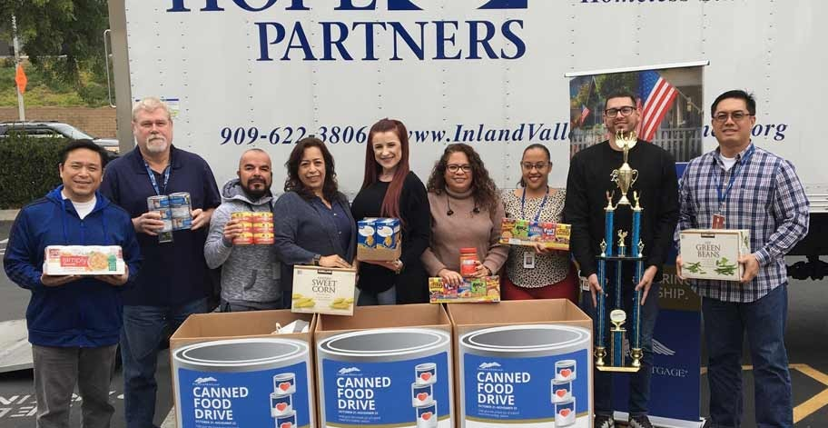 Freedom Mortgage offices in San Dimas, CA collected 766 nonperishable items to help families in their local community facing food insecurity.