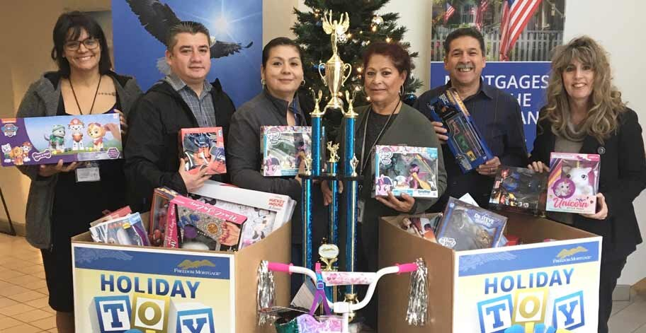 The Ontario Rec Center received over 125 toys from our employees in San Dimas, CA.
