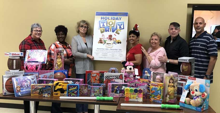 Employees in Deerfield, FL donated 41 toys