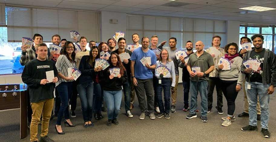 The Sales and Operations teams in Phoenix, AZ collected 200 candy grams to distribute to the local USO lounge for servicemen and women to enjoy.